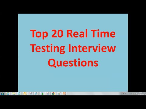 Testing interview | Real time testing interview questions | important testing interview questions
