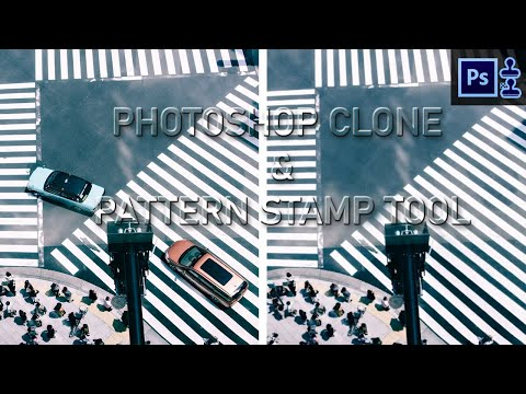 Photoshop Clone Stamp Tool And Pattern Stamp Tool
