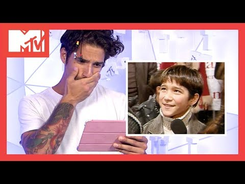 Tyler Posey Reacts To His First MTV  From 2002  The Vault  MTV