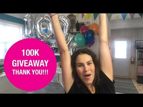 100K Subscribers Soap Giveaway & Thank You!