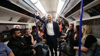 Две линии метро в Лондоне начали работу в круглосуточном режиме