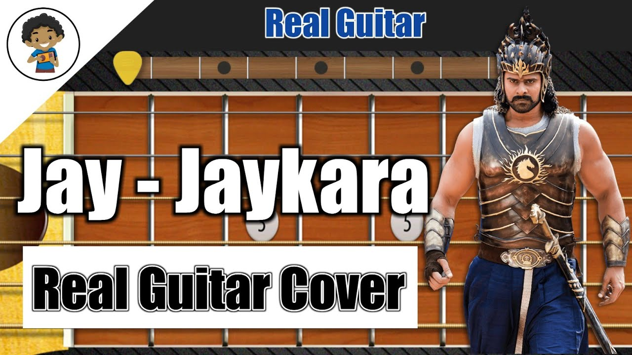 Bahubali 2 | Heart Touching Song Real Guitar Cover - By