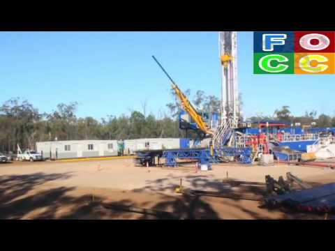 Amazing Onshore Oil and Gas  Land Rig Move