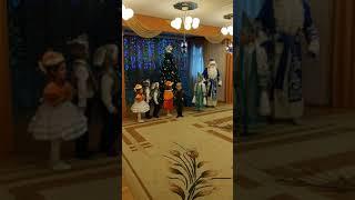 Звери и Дед Мороз зажги елку