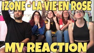 Video IZ*ONE (아이즈원) - La Vie en Rose (라비앙로즈) MV Reaction [THEY MAY HAVE SNAPPED!] download MP3, 3GP, MP4, WEBM, AVI, FLV November 2018