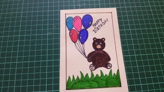 Easy Happy Birthday Card