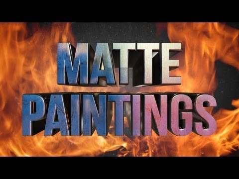 Shoot Your Friends: Matte Paintings