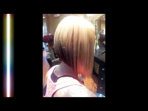 Angled Bob Haircut Youtube