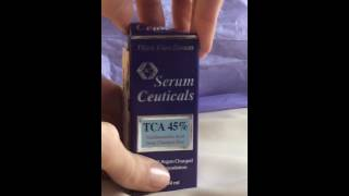 I Max 45% Trichloroacetic Acid Serum-Deep Chemical Peel-1 oz 30 ml.