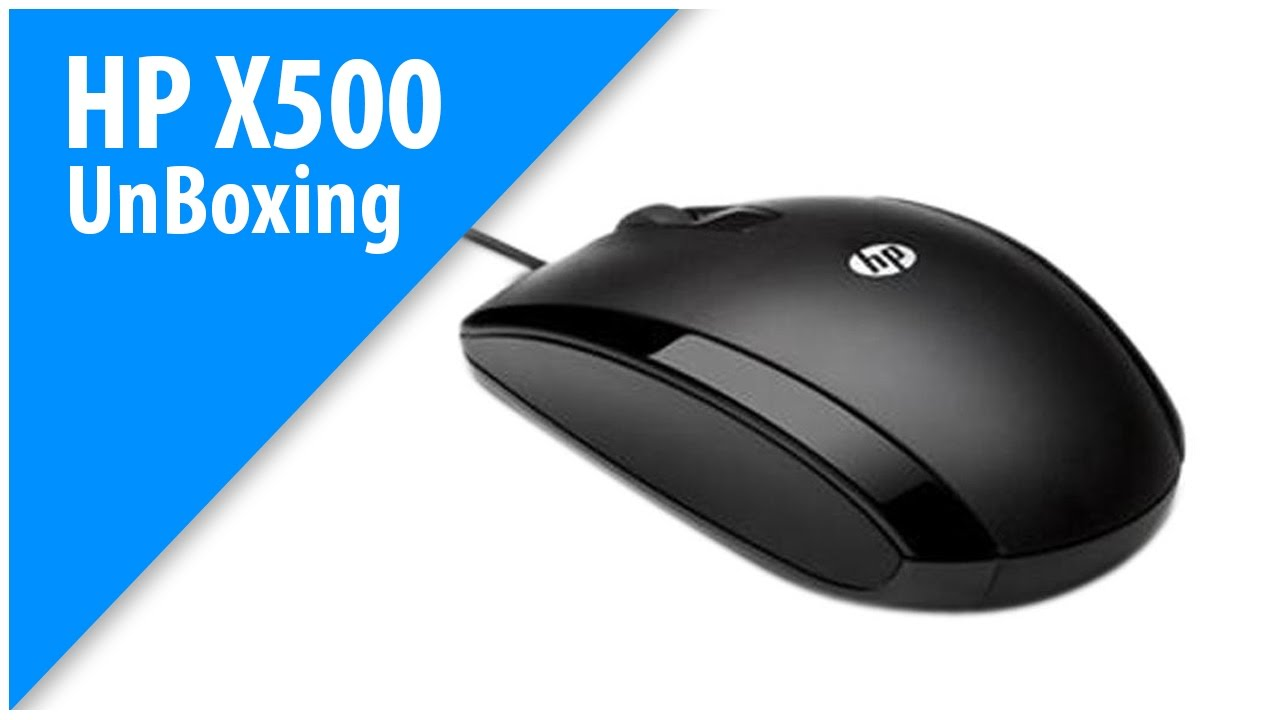 a338436322a HP Mouse X500 Unboxing - YouTube
