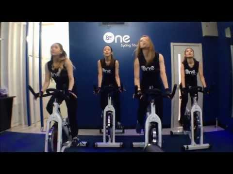 Spinning Dance- Be One Cycling Studio (Big Bang- Fantastic baby)