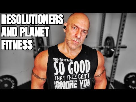 The Thing About Resolutioners And Planet Fitness