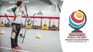 Recurve finals | Yankton 2018 World Archery Indoor Championships