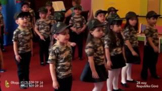 TUMURCUQ uşaq bağçası 28 May Respublika Günü (4 - 6 yaş) 2017