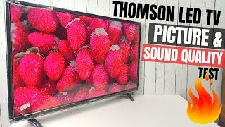 Thomson Led TV Picture Quality & Sound Quality Test | Thomson Led TV | Best Led TV Under 10000