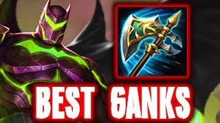 BATMAN AOV: PROBUILD FOR STEALTH JUNGLE (GANK BUILD) | Arena of Valor Batman ROV