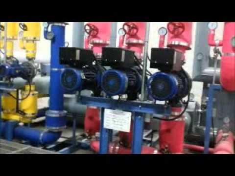 Energy Saving Water Supply & HVAC Heating Circulation Pump System (INJUNGTECH)