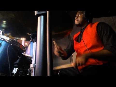 Herschel Smith on drums. @TheRock