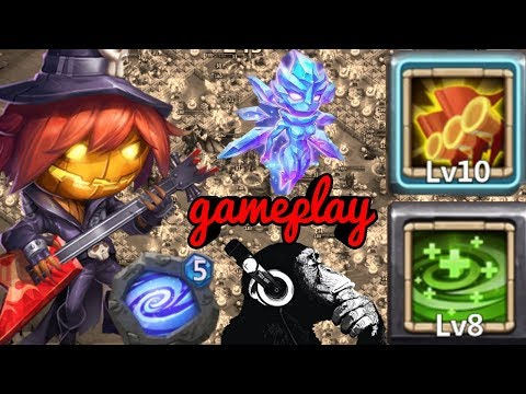 Pumpkin Duke | 8 Regenerate | Crazy Heals | Glacie | Castle Clash