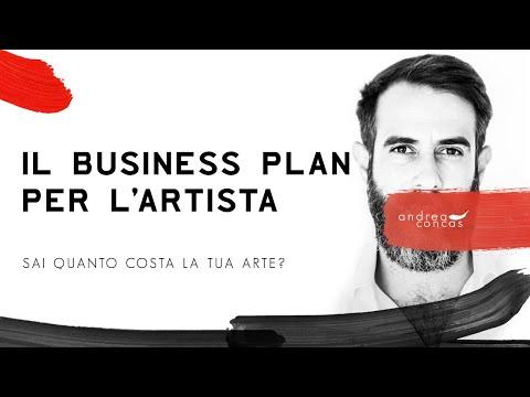 IL BUSINESS PLAN PER L'ARTISTA / Sai quanto costa la tua arte? / ArteConcas / Andrea Concas
