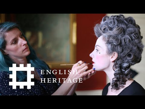 Georgian Makeup Tutorial | History Inspired | Feat. Amber Butchart and Rebecca Butterworth