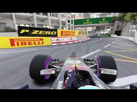 F1 2018 eSports series Monaco World record! 106:176xx