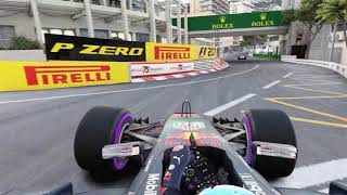 F1 2018 eSports series// Monaco World record! 106:17.6xx
