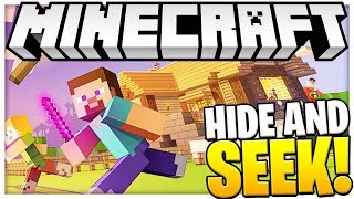 CAN YOU FIND THEM?! - INCREDIBLES SUPER HERO HIDE AND SEEK - Minecraft Modded Minigame
