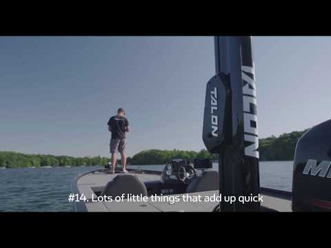 The new  Minn Kota Talon Shallow Water Anchor