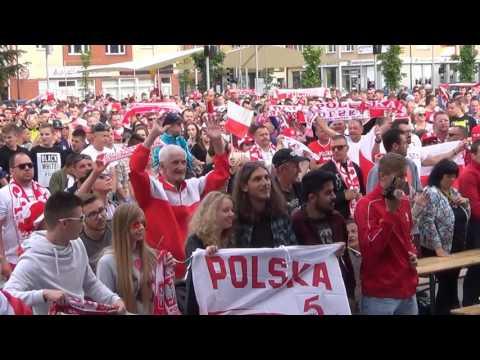 Kibice W Koszalinie Przed Meczem Polska-Irlandia Północna EURO 2016