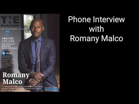 The Secret to How to Make it Hollywood with Romany Malco