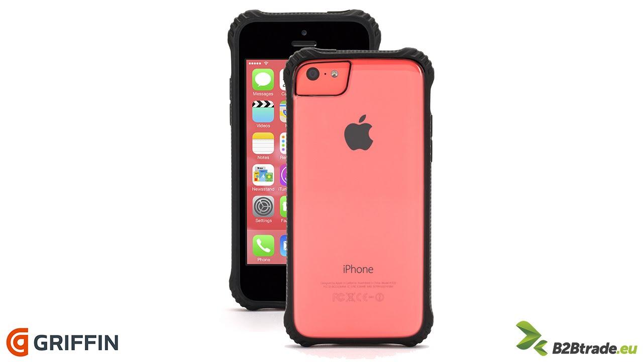 half off f52e6 e8278 Griffin Survivor Clear - Etui iPhone 5/5S/5C