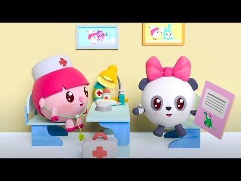 Малышарики - Поликлиника   Новая Серия 165   Мультфильмы для детей 😷 🤒👨⚕️ 👩⚕️🚑