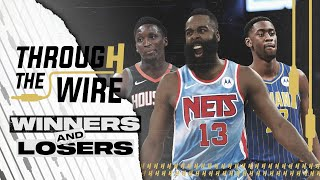 Winners & Losers of the James Harden Trade | Through The Wire Podcast