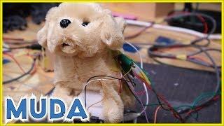 [俺のAIBO]犬のおもちゃを改造して警戒心を加えた | 無駄づくり