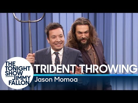 Lauren - Trident Throwing with Jason Momoa