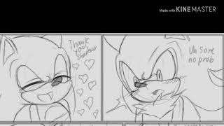 Sonadow doujinshi (part 1)-°•+Vampire night+•°(by AngelofHapiness)