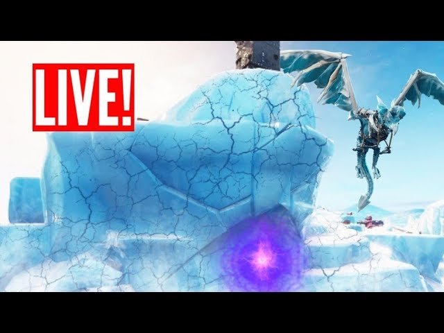 *NEW* FORTNITE POLAR PEAK DRAGON NOISES RIGHT NOW! (Fortnite Live)