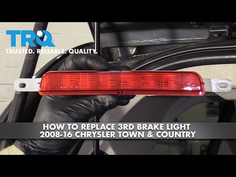 How to Replace 3rd Brake Light 08-16 Chrysler Town & Country