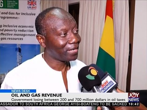 Oil and Gas Revenue - Business Desk on Joy News (6-11-17)