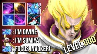 SumiYa Invoker God vs Pro Puck Ideal Timing Combo Killer Build EPIC Gameplay 7.07 Dota 2