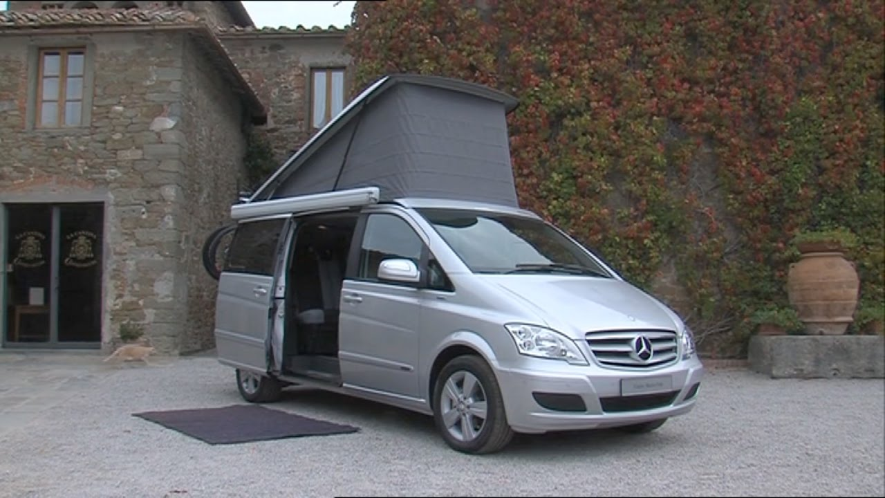 Mercedes Marco Polo 2008 >> 2011 Mercedes Benz Viano Marco Polo In Tuscany Youtube