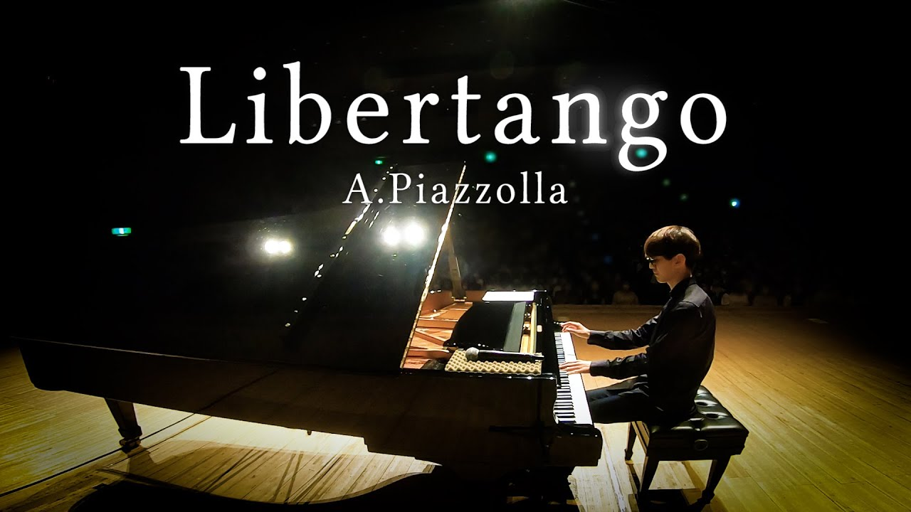 【Piano】A. Piazzolla. Libertango【よみぃ】