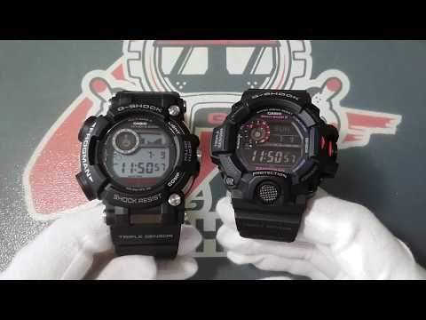 Casio G-Shock GWF-D1000 Frogman vs GW-9400 Rangeman porównanie by Matej, ciekawostki