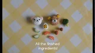 Rilakkuma Bento Box Tutorial - Polymer Clay [HD]