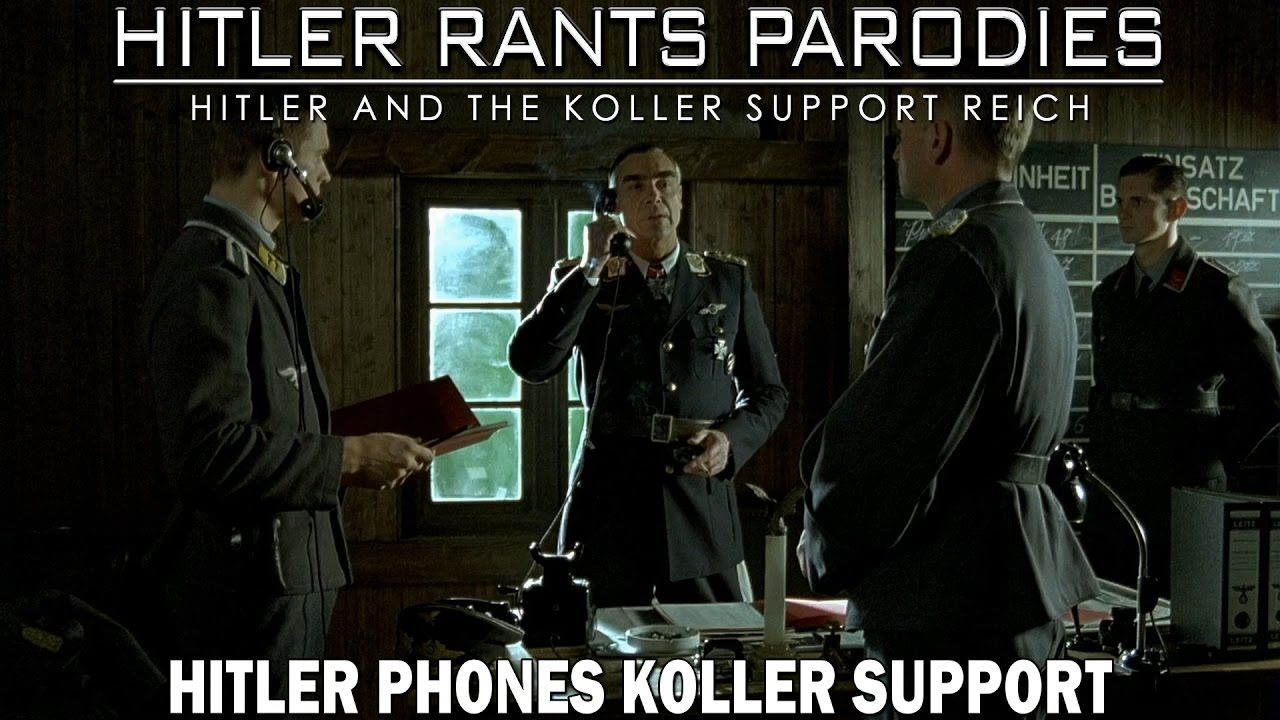 Hitler phones Koller Support