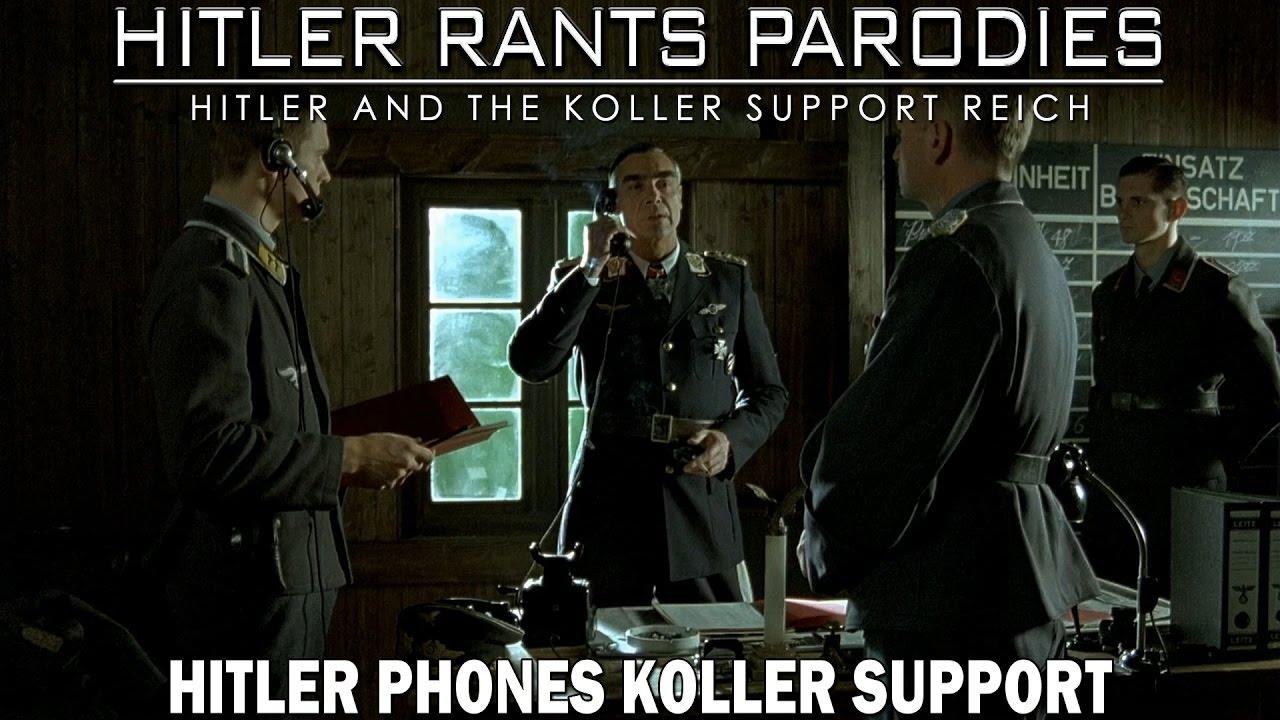 Hitler phones...
