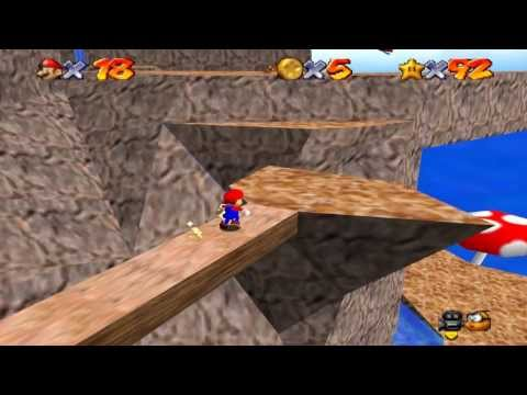 Super Mario 64 Walkthrough - Course 12 - Tall Tall Mountain