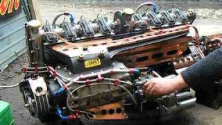 Supercharged home made Straight Eight by Desperate Dan Vid 2