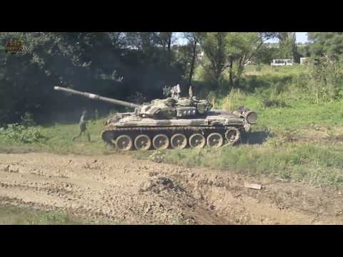 ПО БЕЗДОРОЖЬЮ НА ТАНКЕ Т 72 Т 80 ПОДБОРКА - Russian tanks T 72, T 80,  stuck in the mud COMPILATION